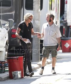 : Photo Jamie Campbell Bower shows off his tattooed arms on the set of his film The Mortal Instruments: City of Bones on Thursday (August in Toronto, Canada. Robert Sheehan, Jamie Campbell Bower, City Of Bones, Nap, Hipster, Movies, Hipsters, Films, Cinema