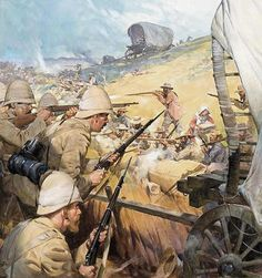 1900 - The Boer War The Battle of Spion Kop.British Vs Dutch fighting over spoils of war,.The defeated Zulu Lands of South Africa. Colonialism was a WAR on Aficans. Lest We Forget