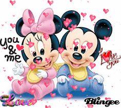 mickey and mimi
