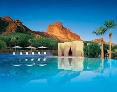 After Jay Z quietly put a ring on it in 2008, he and Beyonce secreted away to Scottsdale, Arizona's Sanctuary on Camelback Mountain, a 53-acre retreat flaunting an infinity pool, 105 amenity-laden casitas and suites, and panoramas of Paradise Valley's rock formations. (Photo: Sanctuary on Camelback Mountain)