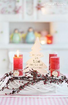 Advent wreath I Casa di Falcone