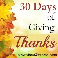 """I added """"Giving Thanks"""" to an #inlinkz linkup!http://diana2rockwell.com/giving-thanks"""