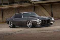 1973 Chevrolet #Camaro Z/28. Resto-Mod-ification. 700-plus horsepower. Check this baby out here: http://www.superchevy.com/features/1407-1973-chevrolet-camaro-z28-resto-mod-ification/
