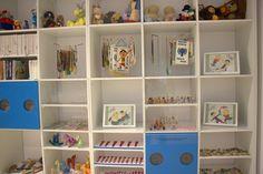 Wystawa O!Kolekcja  - ściana pełna kolekcji.  #muzeumdladzieci #childrensmuseum #kidsmuseum #kidsinmuseum #ethnomuseuminwarsaw