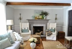 May The Road Rise Up to Meet You Sign Preview and Some Subtle Spring Touches to our Family Room  by Dear Lillie