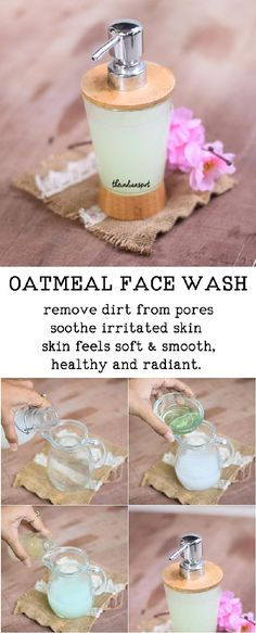 Did you know oatmeal is a natural beauty enhancer? It can be used as a gentle cleanser, scrub and also as a face pack making it a perfect beauty product for a smoother and softer skin. It also can be living a good life Face Cleanser, How To Grow Eyebrows, Skin So Soft, Homemade Beauty, Face Wash, Beauty Care, Beauty Tips, Face And Body, Skin Treatments