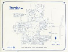 Pardee Mira Mesa Development Map