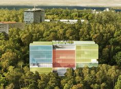 steven holl to use colored photovoltaic glass for doctors without borders complex in geneva | Netfloor USA