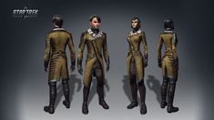 Explore strange new worlds, seek out new life and new civilizations, and boldly go in this expanding vast universe. Star Trek Online, Star Trek Uniforms, Studios, United Federation Of Planets, Sci Fi Art, Larp, Female Art, Science Fiction, Cosplay