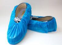 #330 blue shoe covers