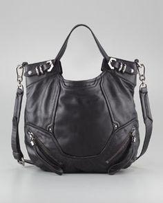 V19D7 Oryany Tegan Shoulder Bag, Black #NMFallTrends