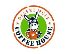 Desert Mule Coffee House at https://www.logoarena.com - logo by sunjava