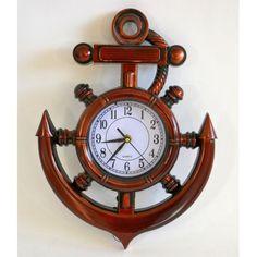 Nástenné hodiny kotva Ale, Bracelet Watch, Clock, Home Decor, Watch, Decoration Home, Room Decor, Ale Beer, Clocks