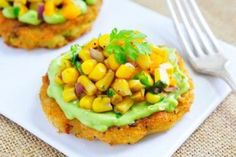 Bacon Potato Pancake with Roasted Corn Salsa | Potato Goodness