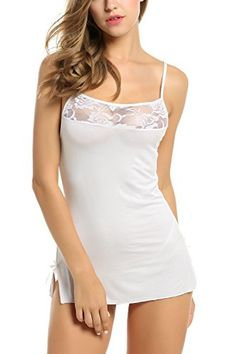 Perfect gift for ladies ,wife and girlfriendIt is suitable for nightwear, sleepwear. 1 x sexy lingerie dress 1 x G-string. You will be the most sexy beauty wearing this lingerie.hot and sexy. Stockings Lingerie, Sexy Lingerie, Lingerie Babydoll, Babydoll Nightwear, Lingerie Dress, Pretty Lingerie, Lace Babydoll, Cotton Lingerie, Ropa Shabby Chic