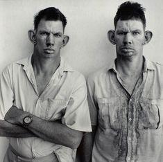 roger ballen - dresie and casie, twins, western transvaal, 1993