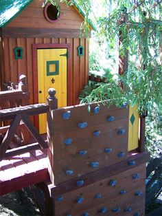 Crooked Gap Clubhouse -- custom treehouse by Barbara Butler