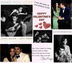 The Perfect Valentine's Day Couple of 2014 - Teenage Wonderland // #blog #valentines day #johnmayer #katyperry #valentinesday #vday #couple #love