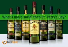 Jameson Irish Whiskey Social Breakdown