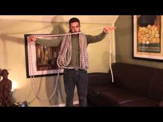 (13) How to Coil Your Rope - the butterfly and mountaineer's coil. - YouTube