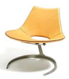 Scimitar Chair by Jorgen Kastholm and Preben Fabricius