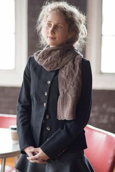 baroque by michael dworjan / quince & co chickadee in twig