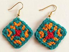 Crochet Rockstar!: The Colors of Africa Crochet Earrings