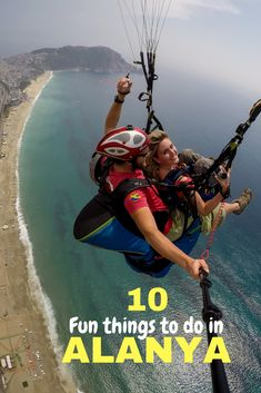 Paragliding and other 9 things to do in Alanya, Tukrey! You will not be bored - I promise.