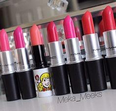 Favorite lipsticks! MAC