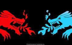 • #LEGO #NINJAGO • #Kai #Nya's dragon symbol My Edit I hope you'll like it