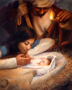 The Lord Jesus Christ. Our Heavenly Father sent His Son, Jesus Christ, to be our Savior and show us the way to true happiness by living. Lds Memes, Pictures Of Christ, Jesus Christus, True Meaning Of Christmas, Happy Birthday Jesus, Birth Of Jesus, Baby Jesus, A Child Is Born, O Holy Night
