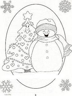 Snowman e árvore | Flickr - Photo Sharing!