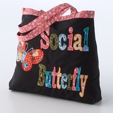 cute butterfly bag, maybe not quite right