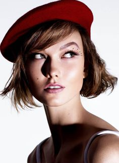 Karlie Kloss by Miguel Reveriego for The Sunday Times Style (May 2013)