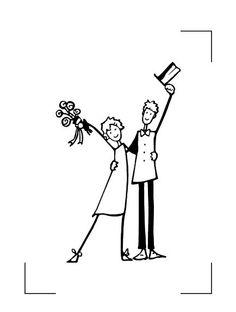 Couple mariés