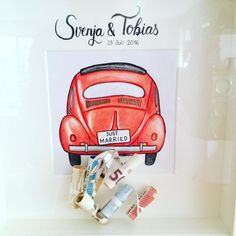 DIY wedding money gift Source by schmiegrue Diy Gifts For Kids, Craft Gifts, Diy For Kids, Wedding Gifts For Bride, Bride Gifts, Don D'argent, Just Married Car, Jackson, Wedding Congratulations