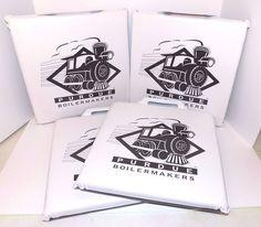 Set of 4 Black and White Purdue Boilermakers Seat Stadium Chair Cushions NICE #PurdueBoilermakers