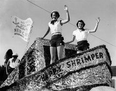Blessing of the Shrimp Fleet. Morgan City, Louisiana.