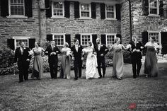 Jennifer Childress Photography | Wedding | Manufacturers' Golf and Country Club | Fort Washington, PA | Bride and Groom | Bridal Party            www.jennchildress.com
