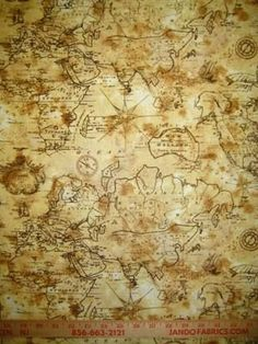 Antique map fabric map fabric upholstery and fabrics explorers map fabric sand vest for c gumiabroncs