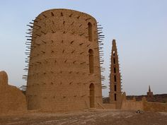 Mud mosque, Bani, Burkina Faso
