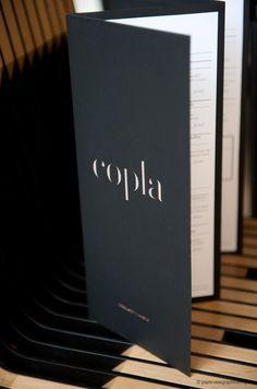 Copla menu