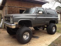 Truck for Kate Chevy 4x4, C10 Chevy Truck, Lifted Chevy Trucks, Classic Chevy Trucks, Gm Trucks, Chevrolet Trucks, Diesel Trucks, Cool Trucks, Chevy Blazer K5
