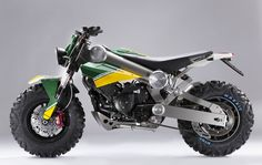 """Caterham Group Launches Motorcycle Division - Announces """"Brutus"""", The SUV Of Motorcycles Caterham Cars, Spiegel Online, British Sports Cars, Cool Motorcycles, Concept Motorcycles, Electric Bicycle, Street Bikes, Car Manufacturers, Cool Bikes"""