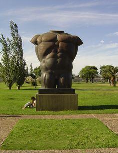 Escultura de Fernando Botero, Buenos Aires.