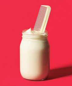Mayo hair treatment...I'm so in need of this! My hair feels fried!!