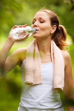 fav summer drink- cold refreshing water