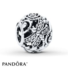 PANDORA Charm Dragonfly Meadow Sterling Silver