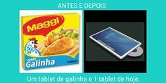 Antes e depois as diferenças das cousas.as Tablet, Electronics, Phone, Dios, Everything, Telephone, Mobile Phones, Consumer Electronics