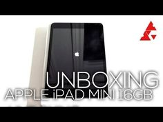 iPad Mini First Look & Unboxing - ProprTech Mobile Applications, Mini One, Hardware Software, New Technology, Ipad Mini, Don't Forget, Range, Posts, Facebook